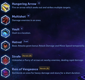 Valla abilities Heroes of the Storm