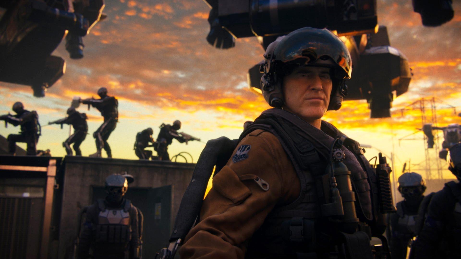 Advanced Warfare Exo Zombies Logo Large