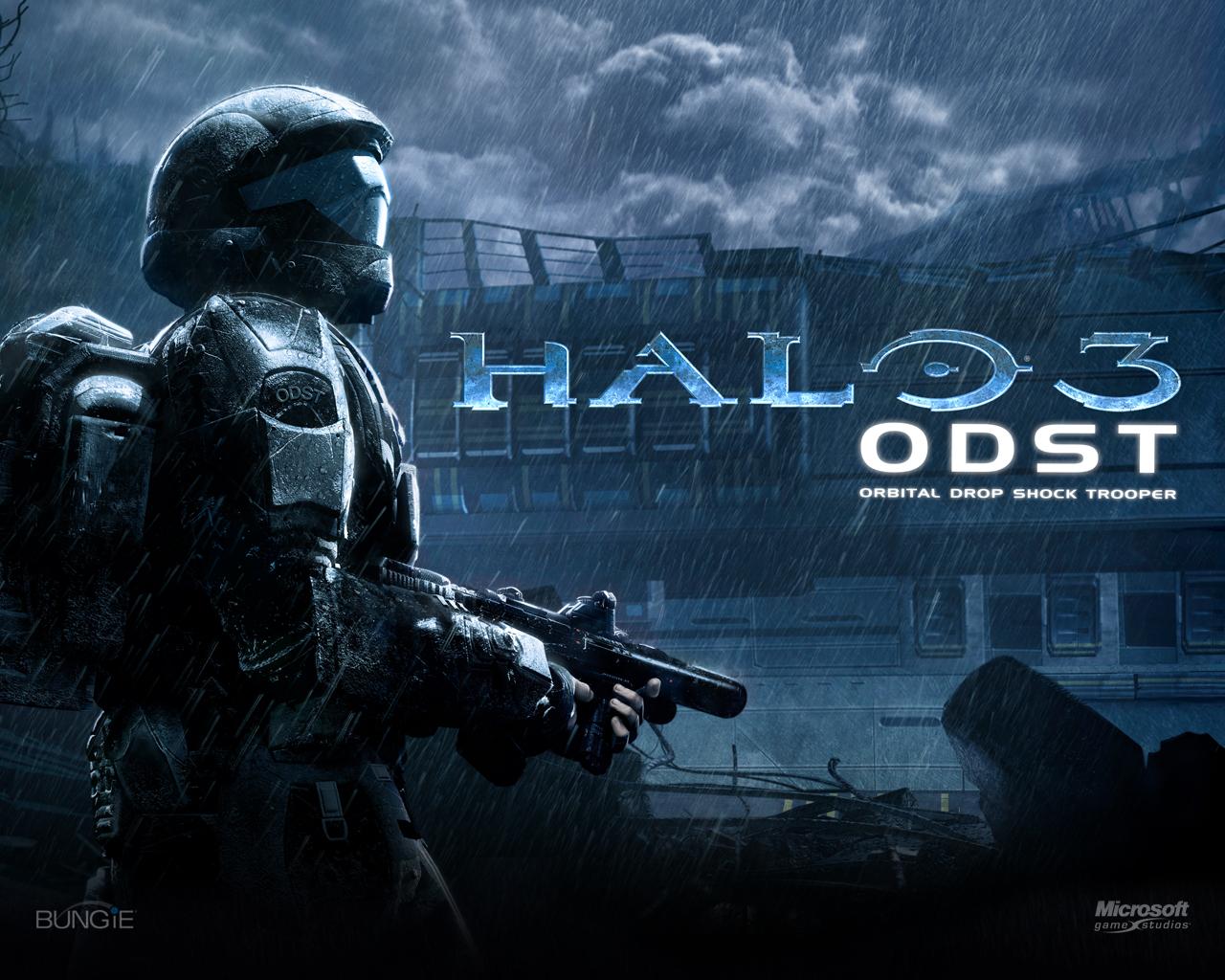 Halo 3 ODST Logo Large