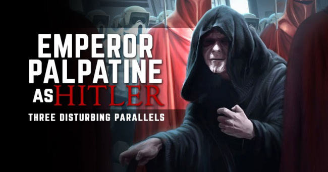 Emperor Palpatine as Hitler - FB