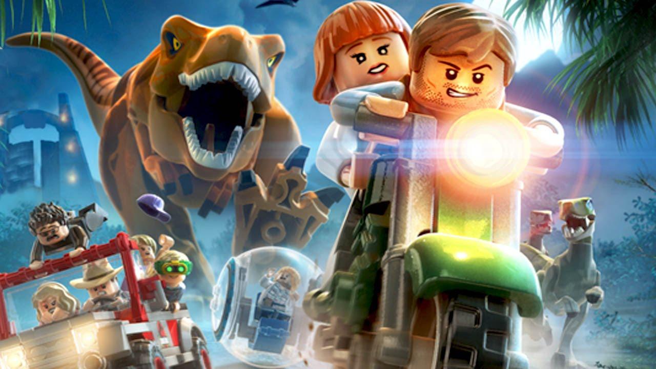 LEGO Jurassic World Logo Large
