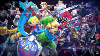 hyrule warriors screen 1