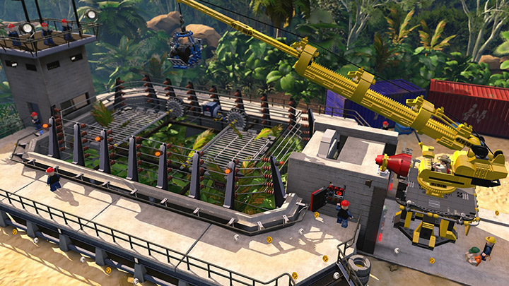 LEGO Jurassic World Logo Large