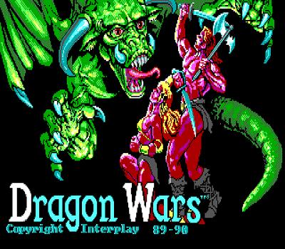 dragon wars title screen