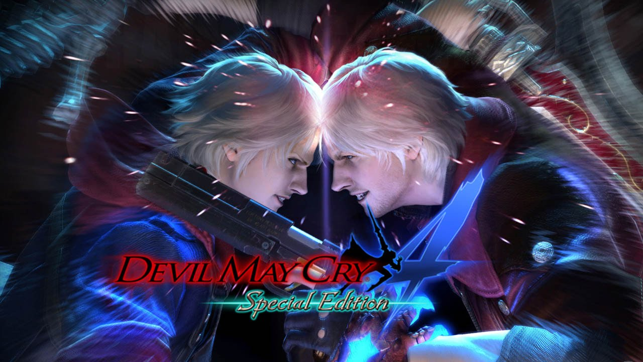 Devil May Cry 4 Logo Large