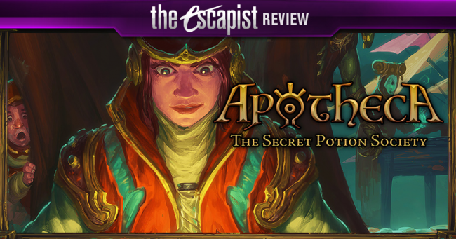 Apotheca: The Secret Potion Society Review - Match Three as a Board