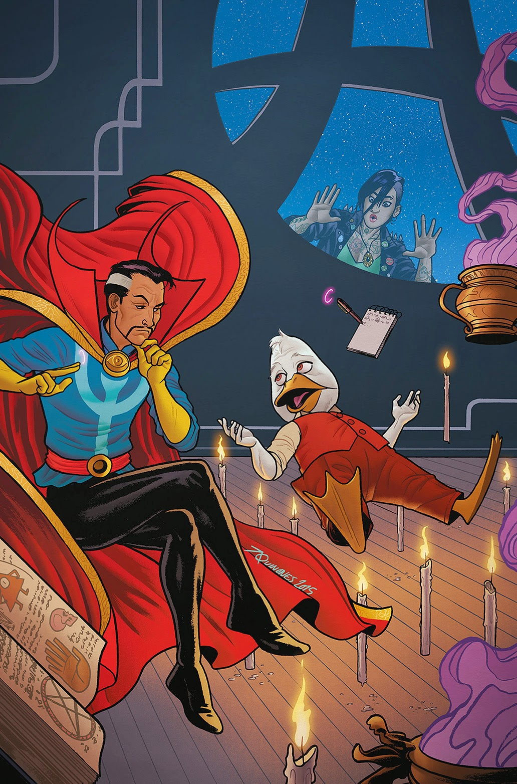 howard the duck 4 cover