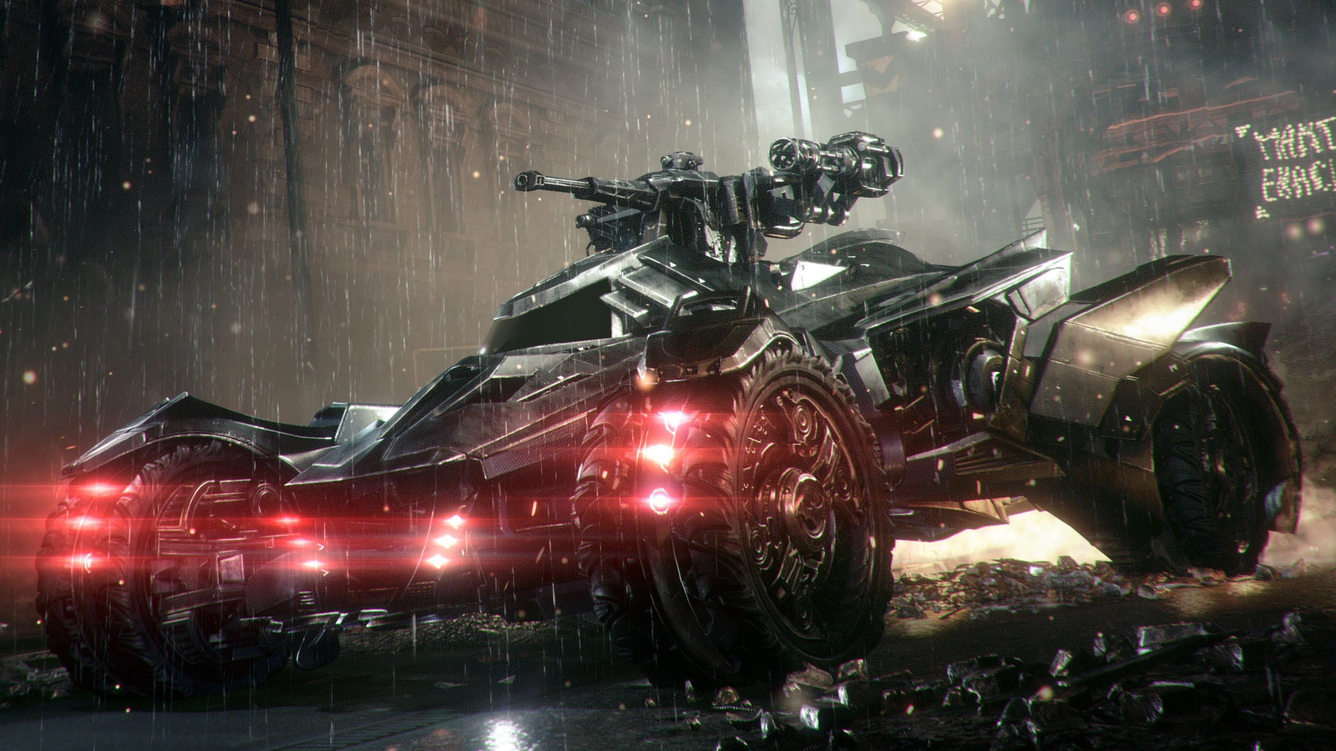 Batman Arkham Knight S Batmobile Is The Unfun Villain Of