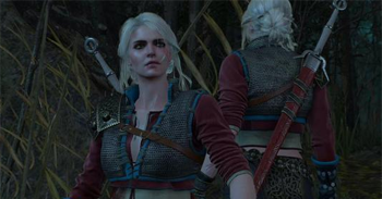 Witcher 3 Ciri Costume DLC