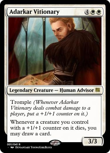 Magic the Gathering Computer Generated card x3