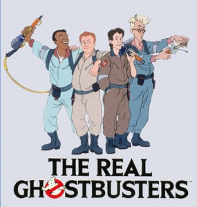 real ghostbusters cartoon
