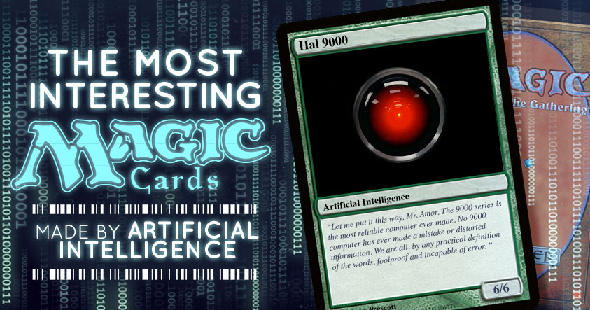 Magic The Gathering Cards Made By Artificial Intelligence