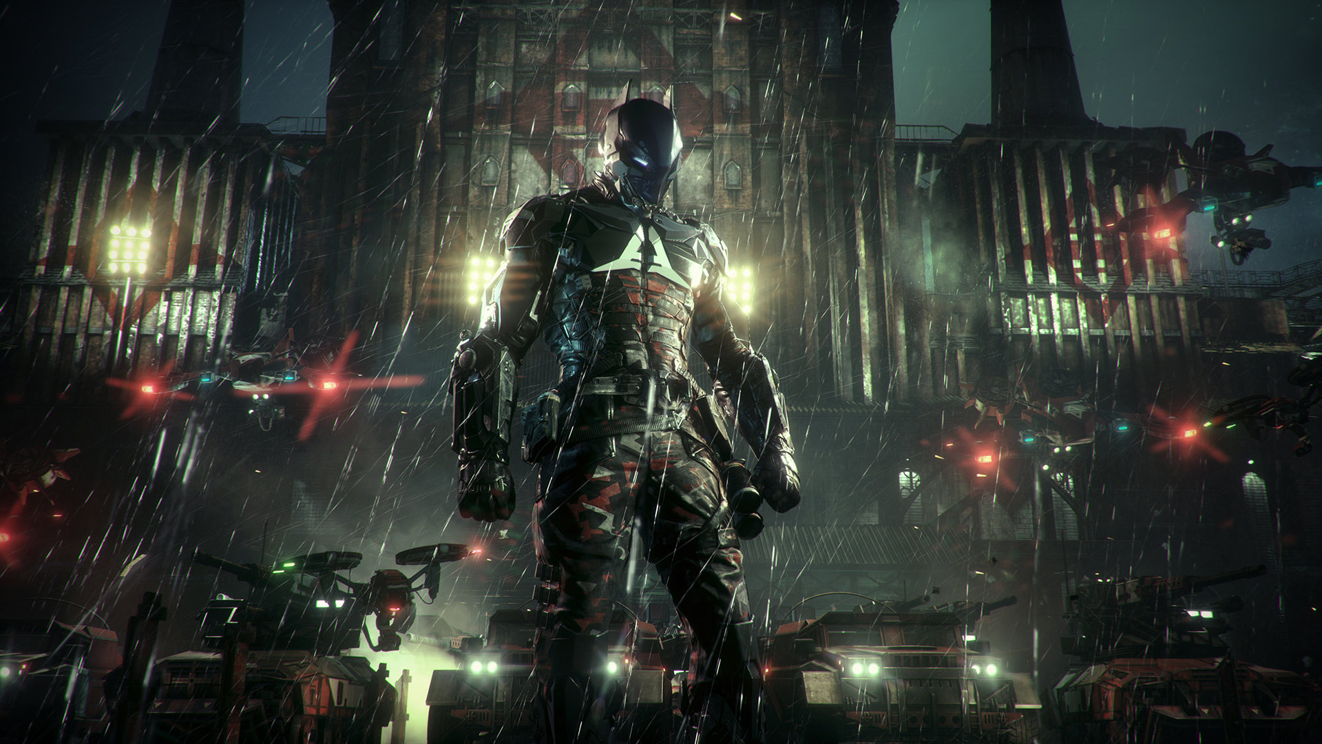 Batman Arkham Knight Militia Checkpoints Locations Walkthroughs