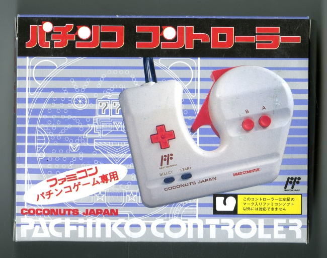 Famicom Pachinko controller