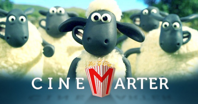 Shaun the Sheep Movie CineMarter Banner