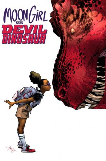 moon girl and devil dinosaur cover