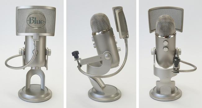 Blue Microphones Yeti the pop windscreen pop filter