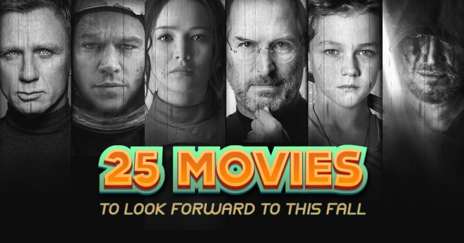25 Movies to Look Forward to This Fall Banner