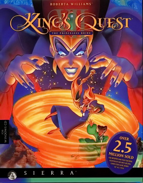 kings quest 7 cover