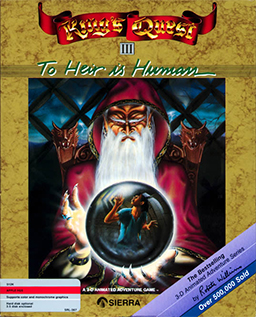 kings quest 3 cover
