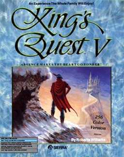 kings quest 5 cover