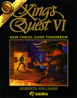 kings quest 6 cover
