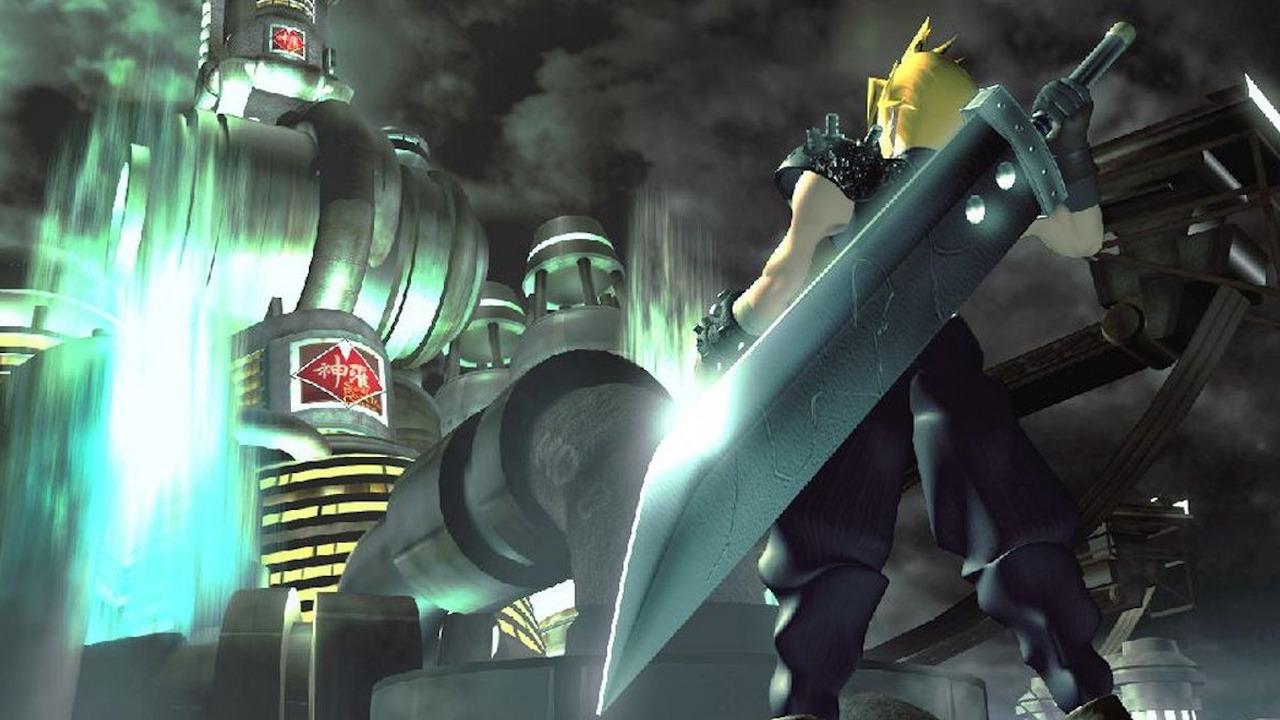 Final Fantasy 7 Logo Large