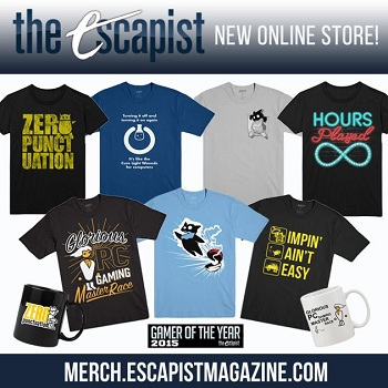 Escapist merch