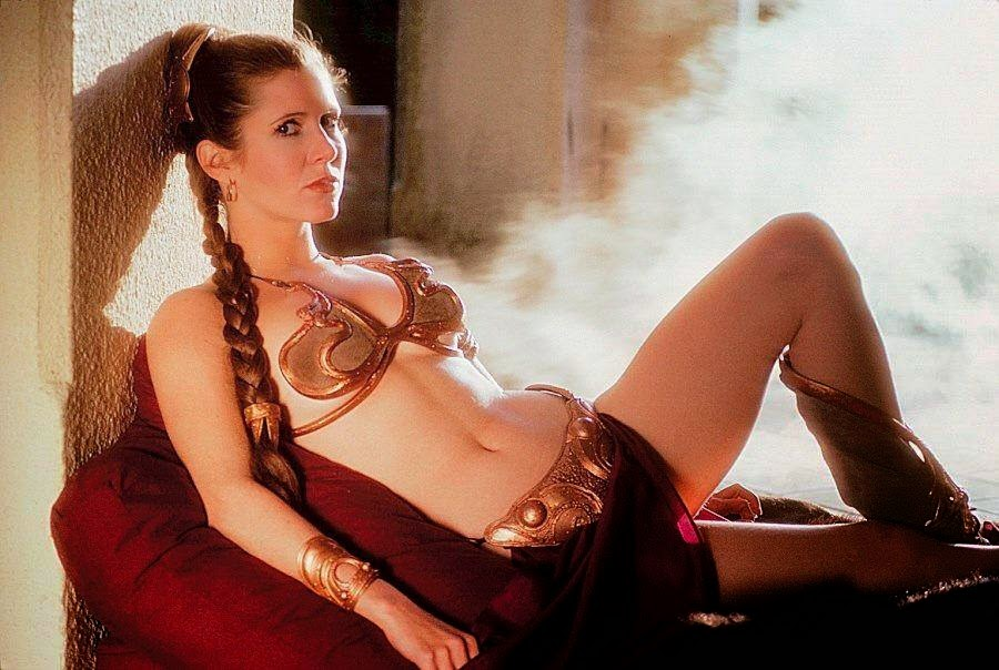 Carrie Fisher slave