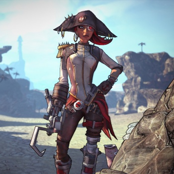 Borderlands 2 - Captain Scarlett