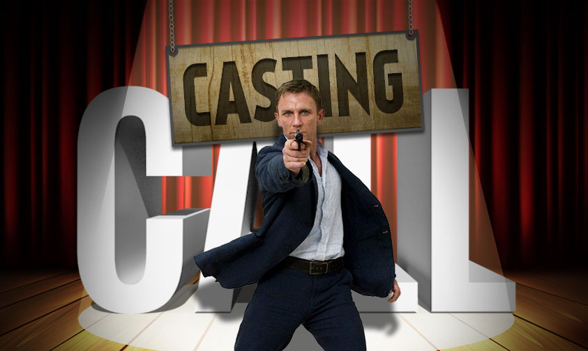 Casting Call James Bond Social
