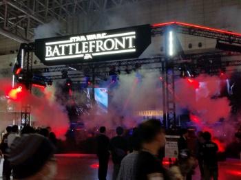 star wars battlefront tokyo game show