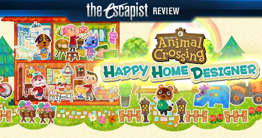 Animal Crossing Happy Home Designer Review New Leaf Expansion