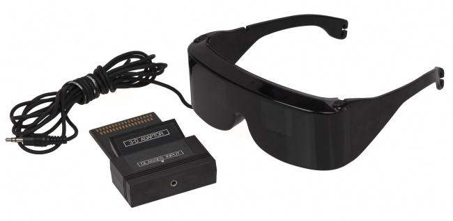 SegaScope 3d glasses
