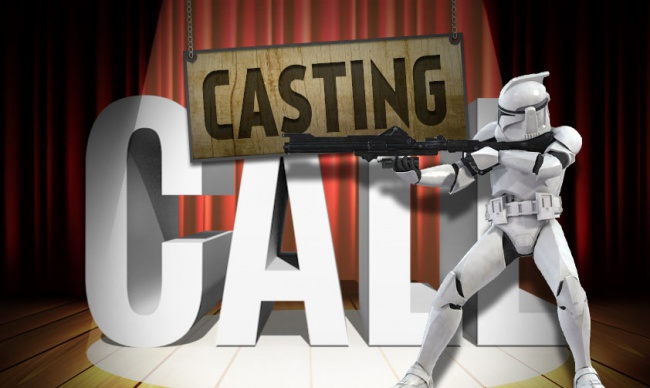 Casting Call Star Wars social