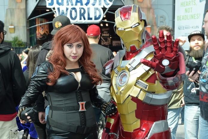 Ironman and Black Widow