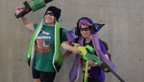 Everyone's favorite Splatoon Squad showed up! Costumes by  Shereoh and Lindsay Likes Cosplay