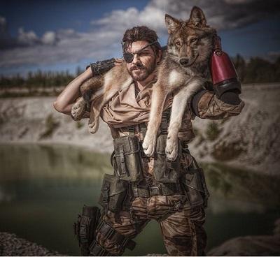 MGS Wolf Cosplay