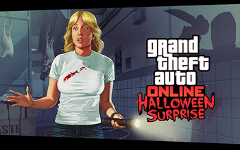 GTA Online Halloween Surprise