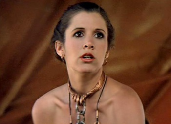 Carrie Fisher Weighs in on Slave Leia Controversy | The Escapist