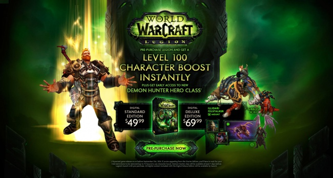 world of warcraft legion releases on or before september 2016 the