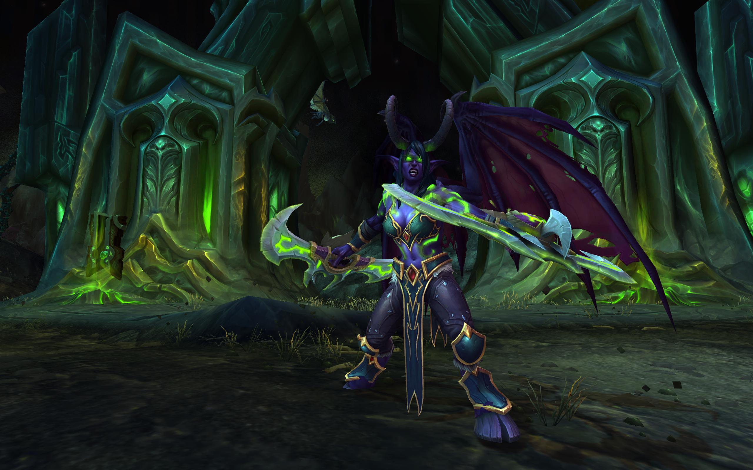 World of warcraft legion new demon hunter a hero in the for Demon hunter