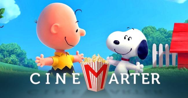 The Peanuts Movie CineMarter Banner