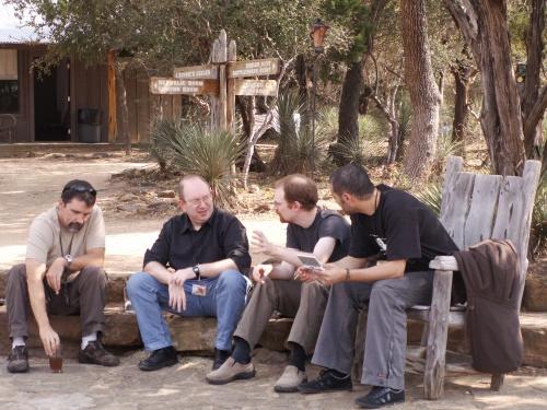 Clint Keith (High Moon), Stephane Bura (10tacle), Daniel Cook (Lost Garden), Olivier Lejade (Mekensleep)