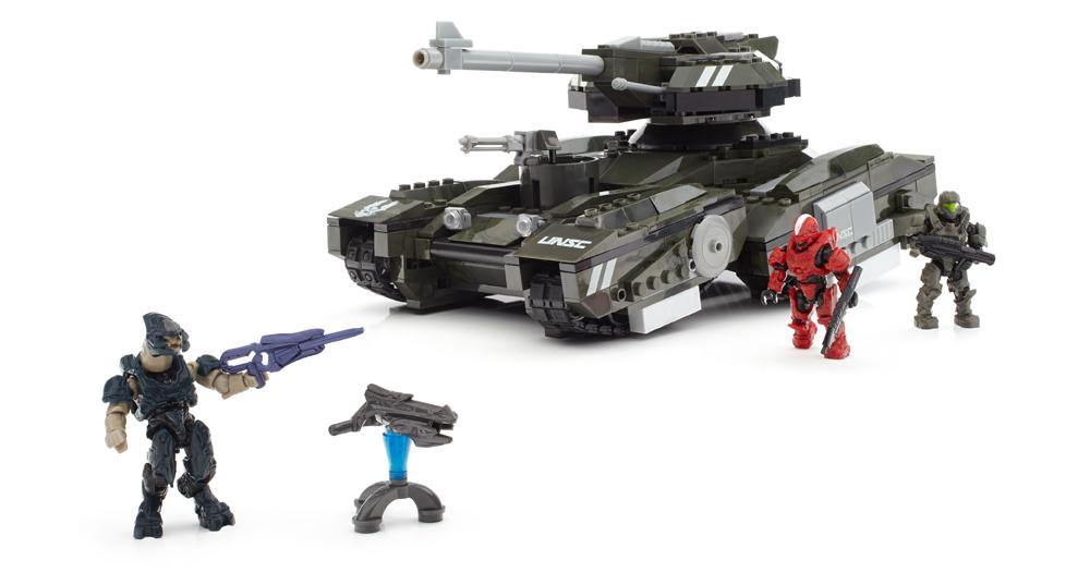 Mega Block Halo Scorpions Sting Review Video Games The Escapist