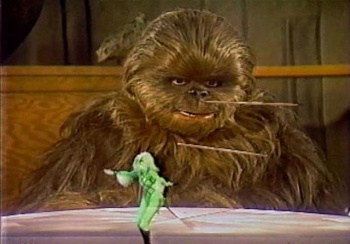 Star Wars Holiday special wookie