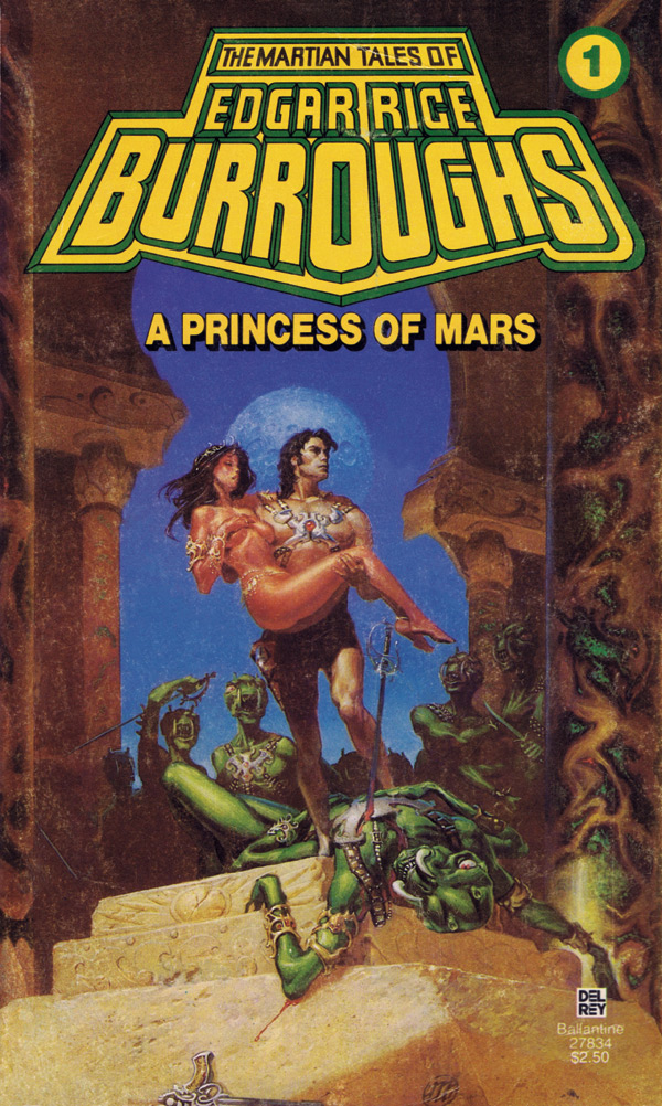 michael whelan a princess of mars cover