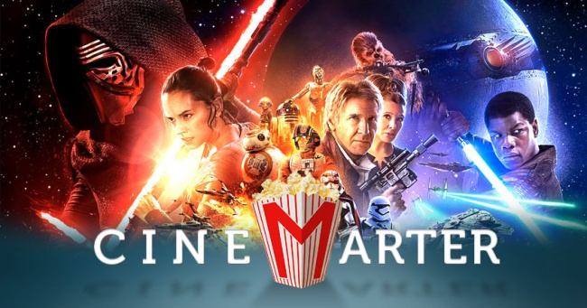 Star Wars: The Force Awakens CineMarter Banner