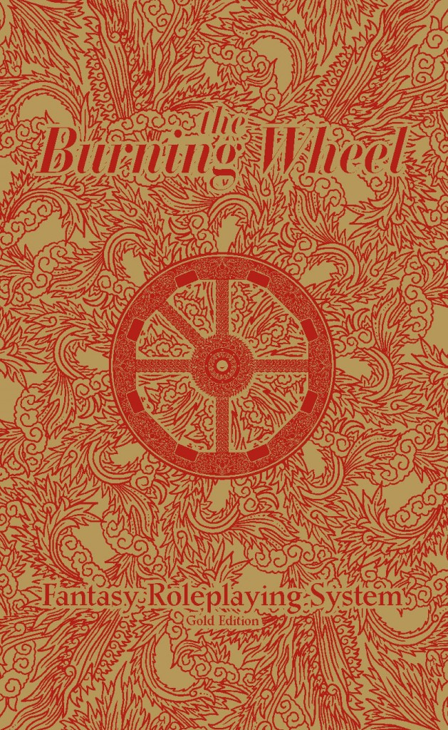 burning wheel gold cover
