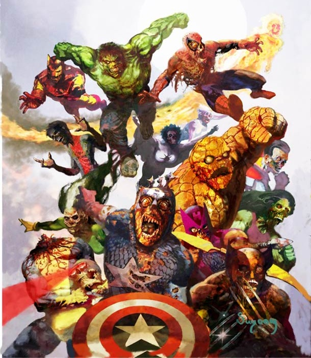 marvel zombies cover art